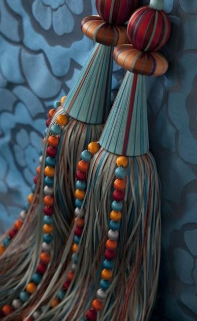tassel para cortina