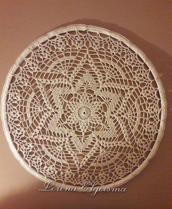 Mandala em crochê estrela branca - Benefícios e cores da mandala