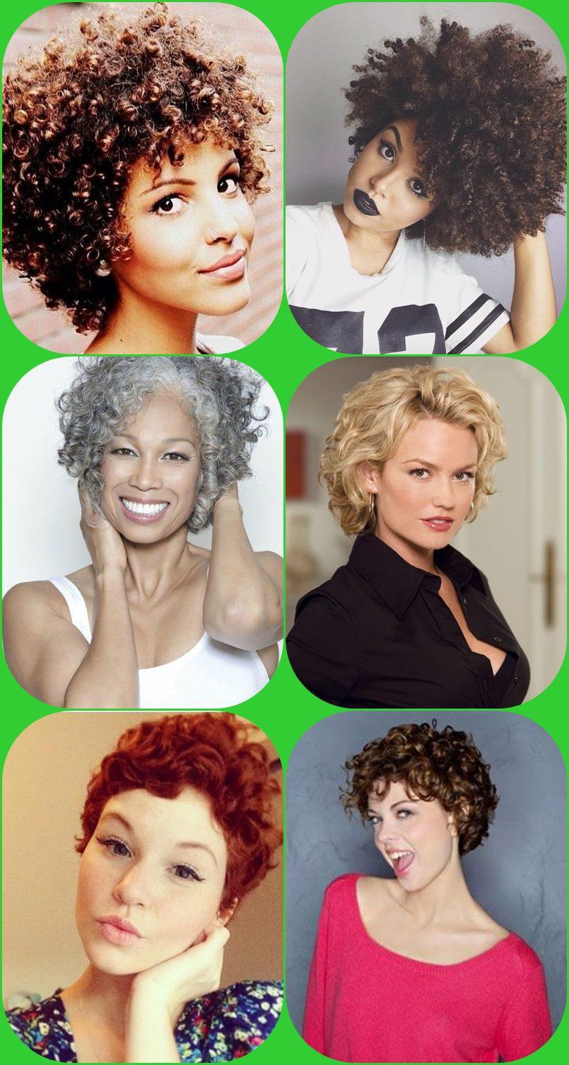 corte de cabelo cacheado curto - short curly hair