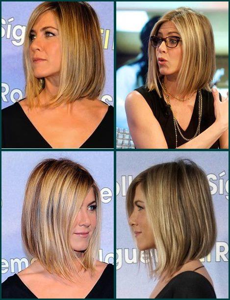 0fc85a75447cc Moda anti idade cortes de cabelo médio de frente para o mar jennifer aniston  jpg 469x611