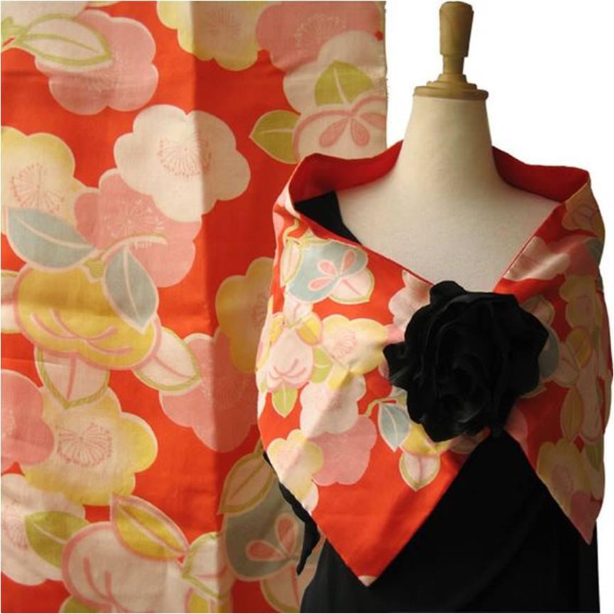 02-estola ou echarpe para festa de casamento floral - diy - faça você mesmo - costura