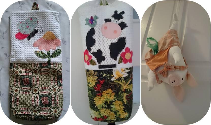 feira de artesanato do Largo da Ordem em Curitiba - Paraná - puxa-saco patchwork