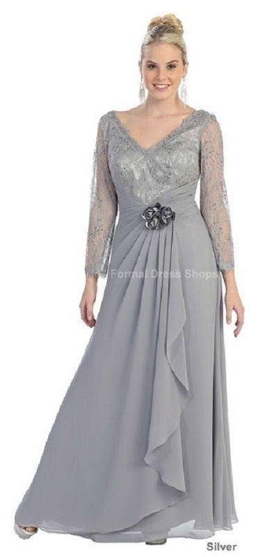 Moda anti-idade: Vestido longo para festas