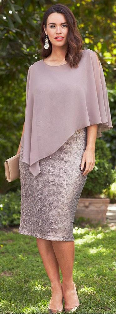 Vestido para bodas de prata ou ouro for Taille plus mariage dresse