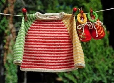 20 Modelos de roupa para bebê em tricô - Baby tricot fashion