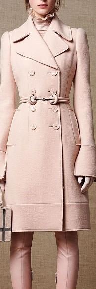 Casaco de inverno de  cores quentes - rose