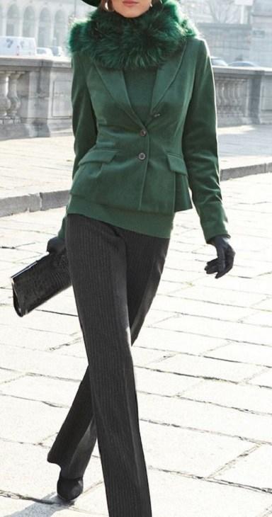 Casaco de inverno - verde