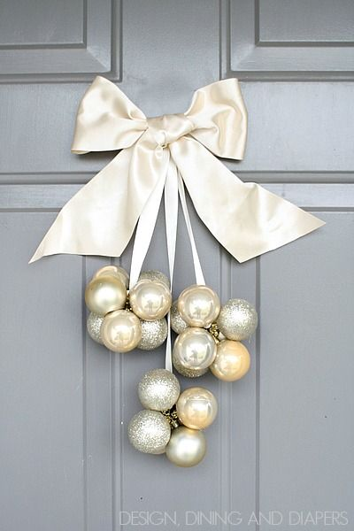 Enfeite de Natal para porta