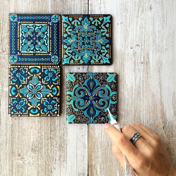 faça você mesmo mandalas - mandalas decorativas - O poder da mandala