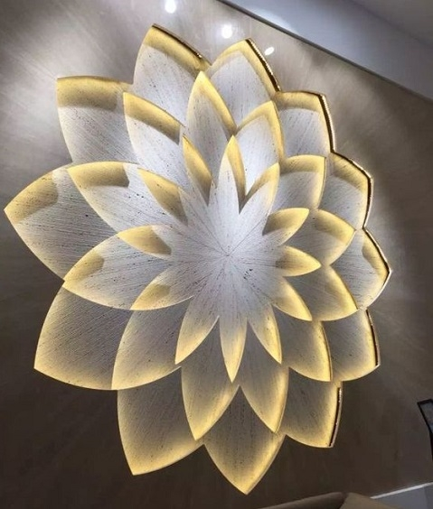 decoração com mandala - luminária decorativa