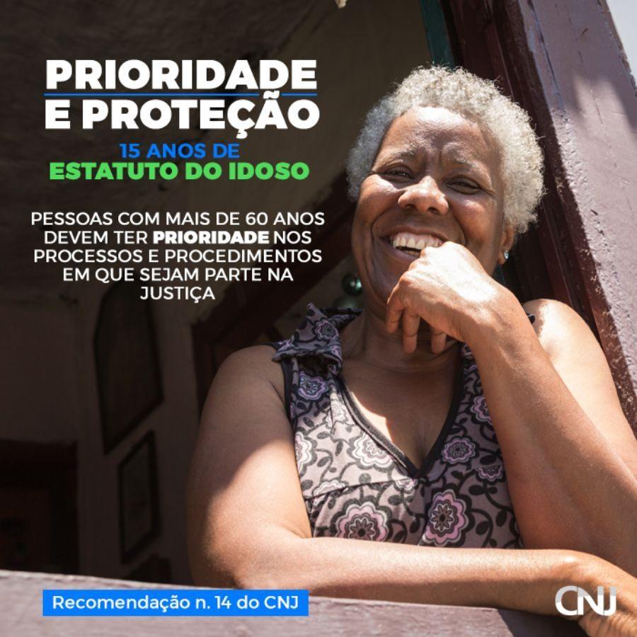 Compartilhe: Prioridade e proteção ao idoso