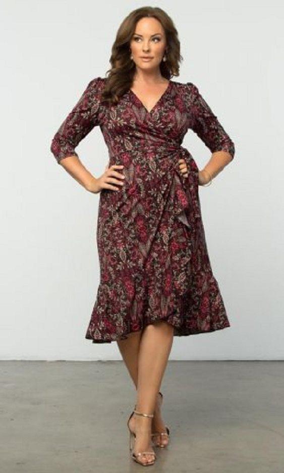 Moda anti-idade:  Vestido envelope, wrap dress
