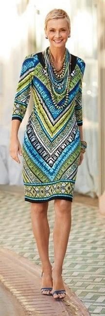 Moda anti-idade:  Vestido elegantes e versáteis