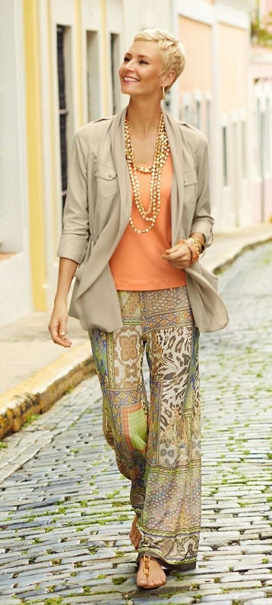 Moda anti-idade: Roupas mais leves para dias frescos