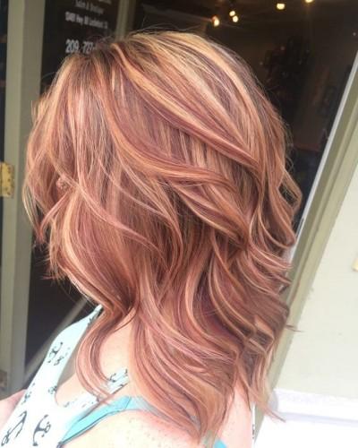 15-hair dye red