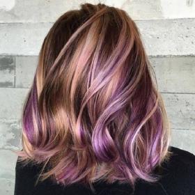 17-cor de cabelo rosa