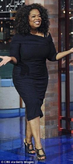 famosas plus size - Oprah Winfrey