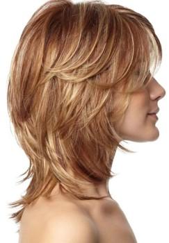 corte de cabelo medio repicado