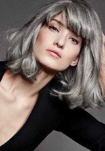 corte de cabelo medio - blunt cunt hair - haircut