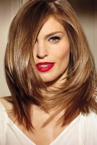 corte de cabelo medio