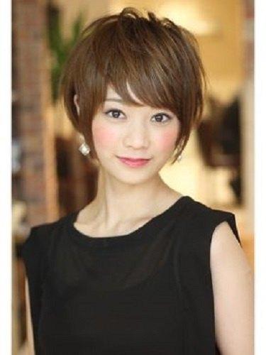 cortes de cabelo para orientais curto - asian short haircut