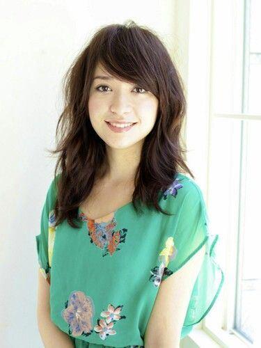 cortes para orientais com franja - cabelos longos - long haircut - asian