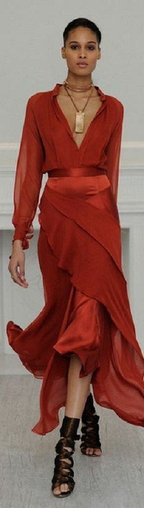 vestido vermelho - moda festas de fim de ano