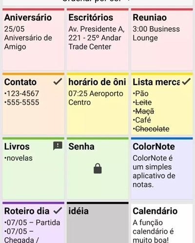 app color note - aplicativos uteis para celular
