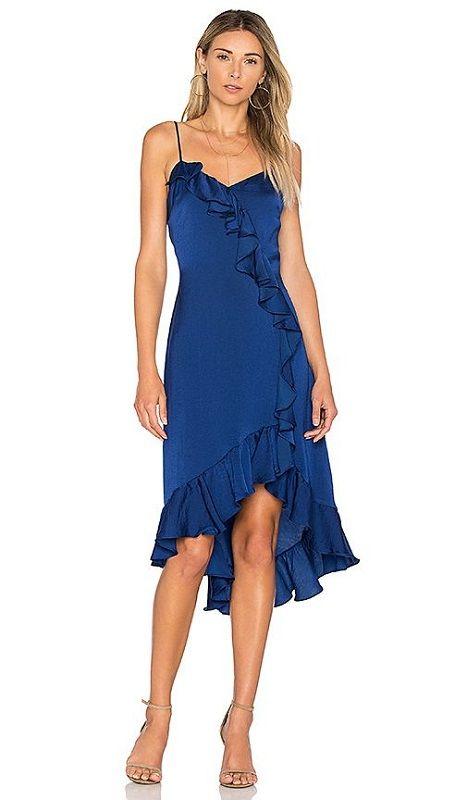 Vestido azul - significado da cor azul - Reveillon - Ano Novo