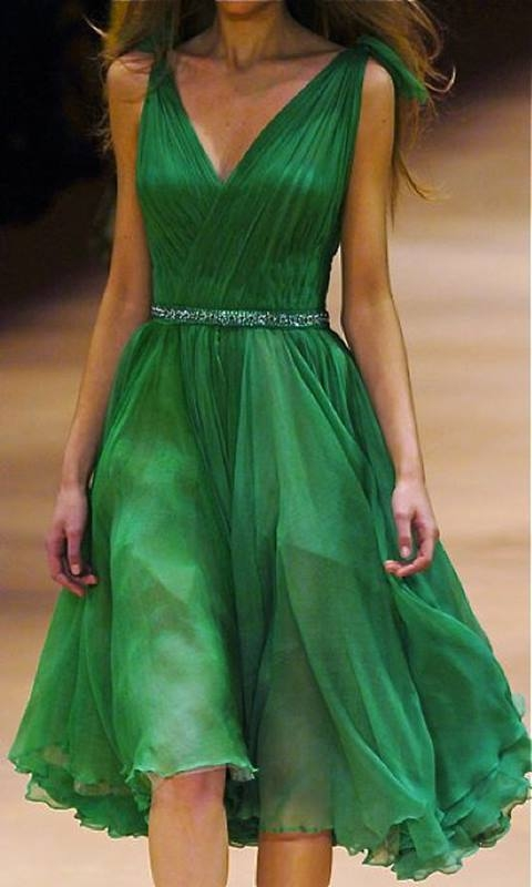 Vestido verde para festas de Natal e Reveillon - 50+, 60+