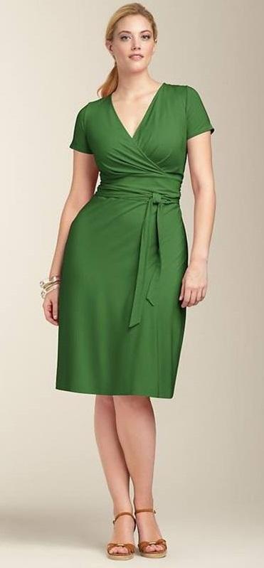 Vestido verde , plus size 50+, 60+