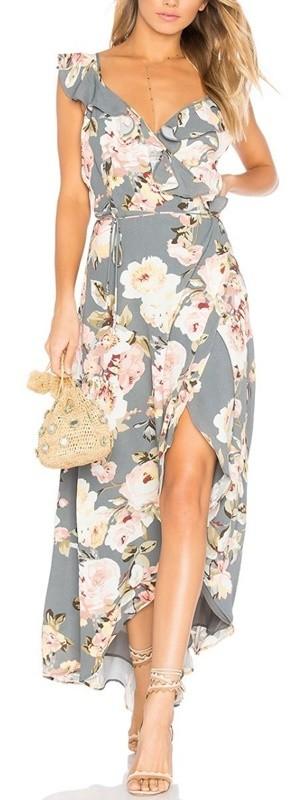 moda anti-idade - vestido floral