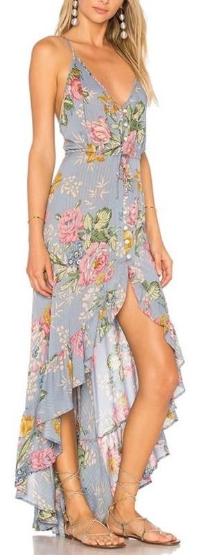 moda anti-idade - vestido estampado floral