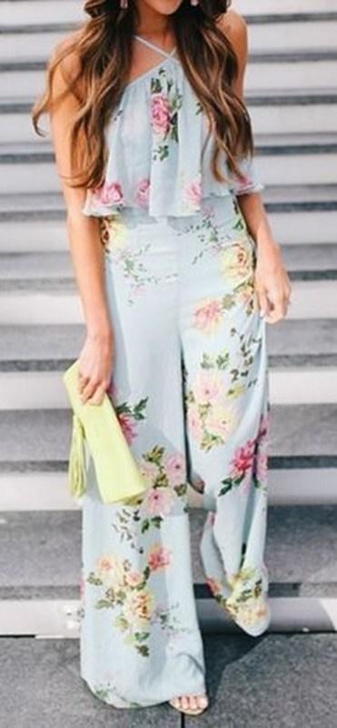 moda anti-idade - macacão estampado floral para festas - 50+ 60+