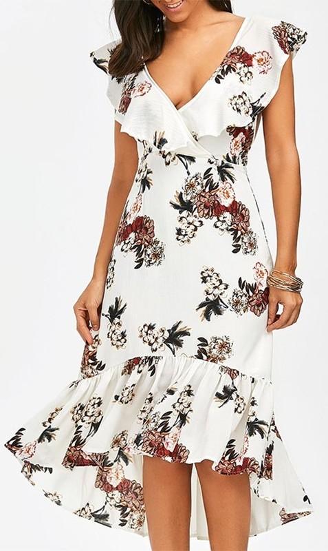 moda anti-idade - vestido estampado floral - 50+ 60+