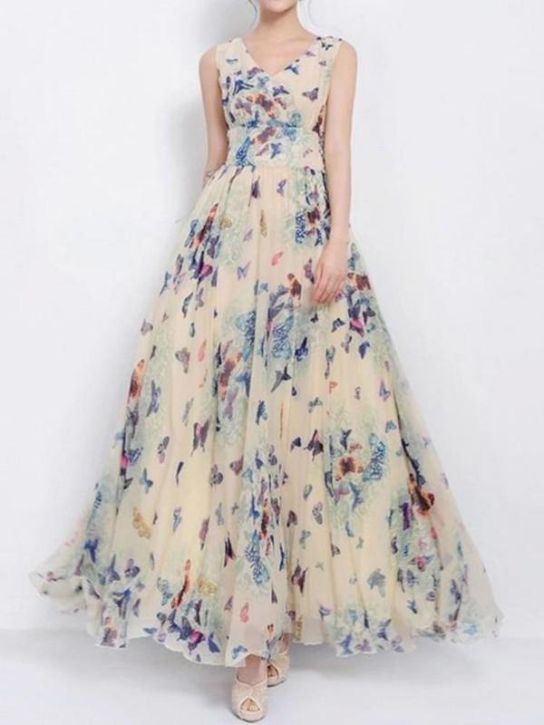 moda anti-idade - vestido estampado floral para festas - 50+ 60+