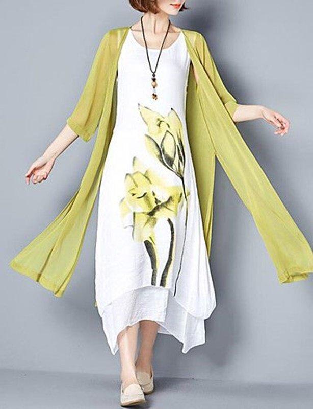 Vestido branco para Reveillon praia - moda anti-idade