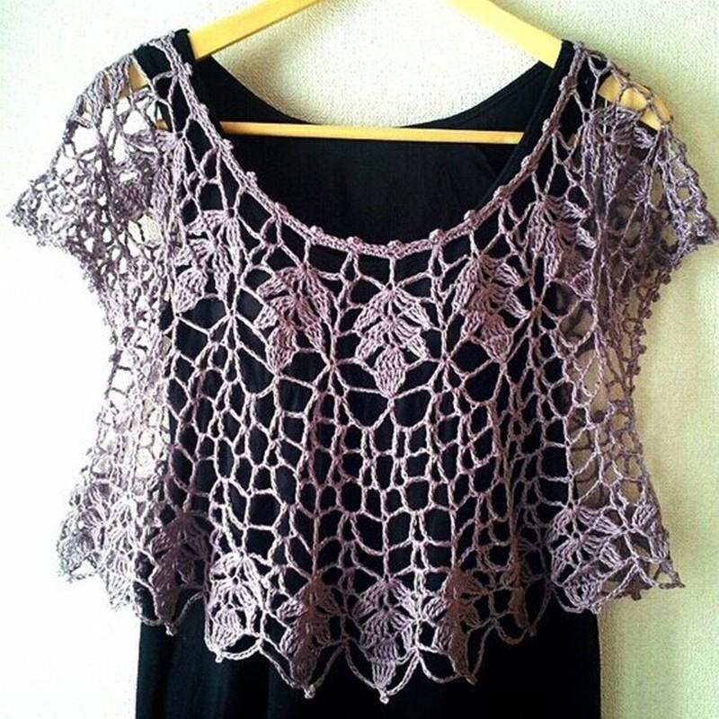 Blusinha em croche - DIY