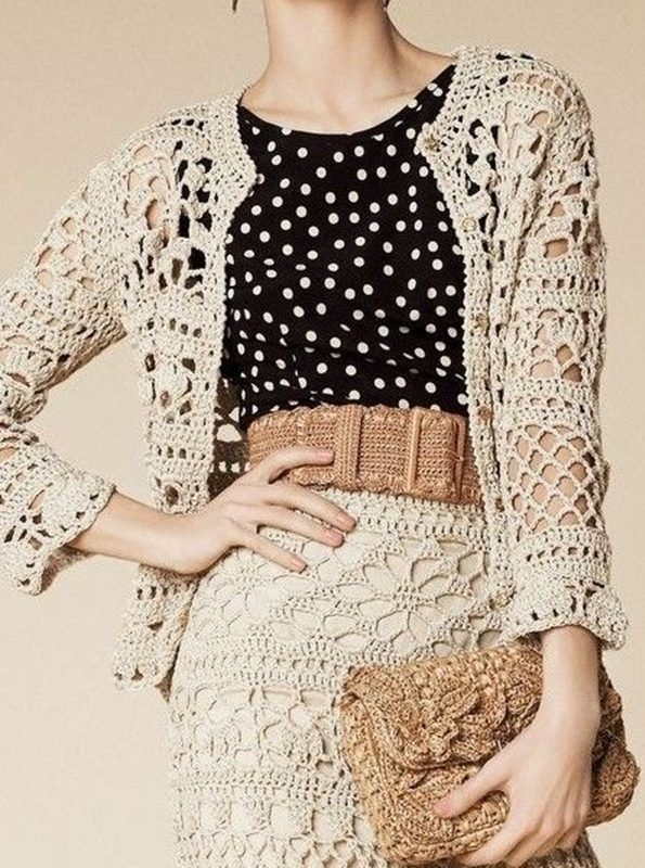 blusinha dolce e gabbana em crochê