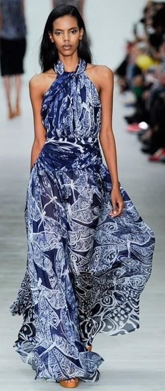 Estampa azul e branco, blue and white fashion