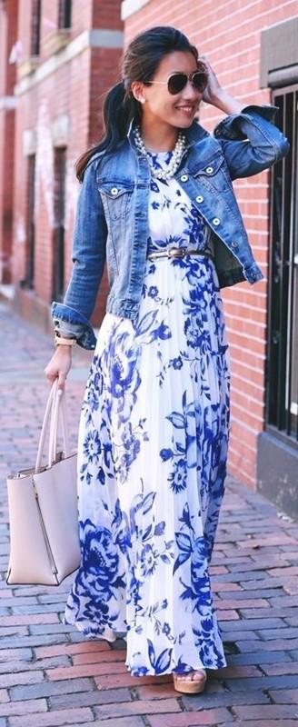 Moda anti-idade , azul e branco, blue and white fashion
