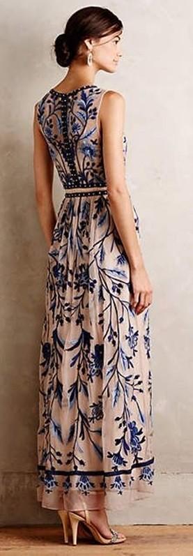 Estampa azul e branco , blue and white fashion