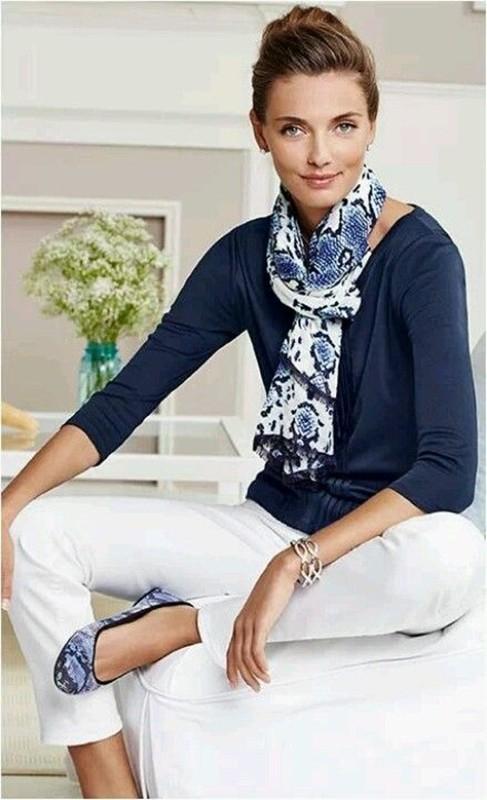 Blue and white fashion, moda anti-idade, moda senhoras, azul e branco