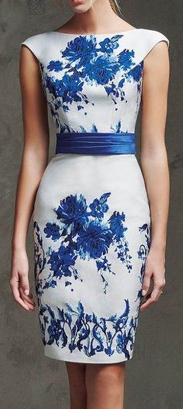 Moda anti-idade : azul e branco, estampa porcelana inglesa