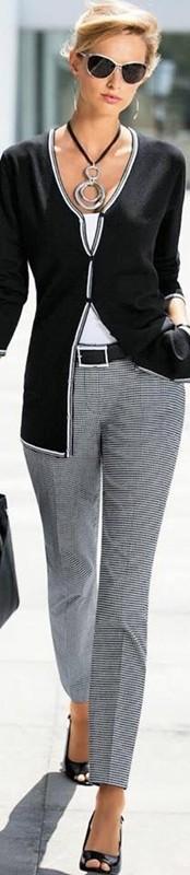 moda anti-idade - cardigan