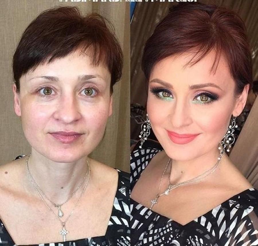 cabelo e maquiagem na terceira idade