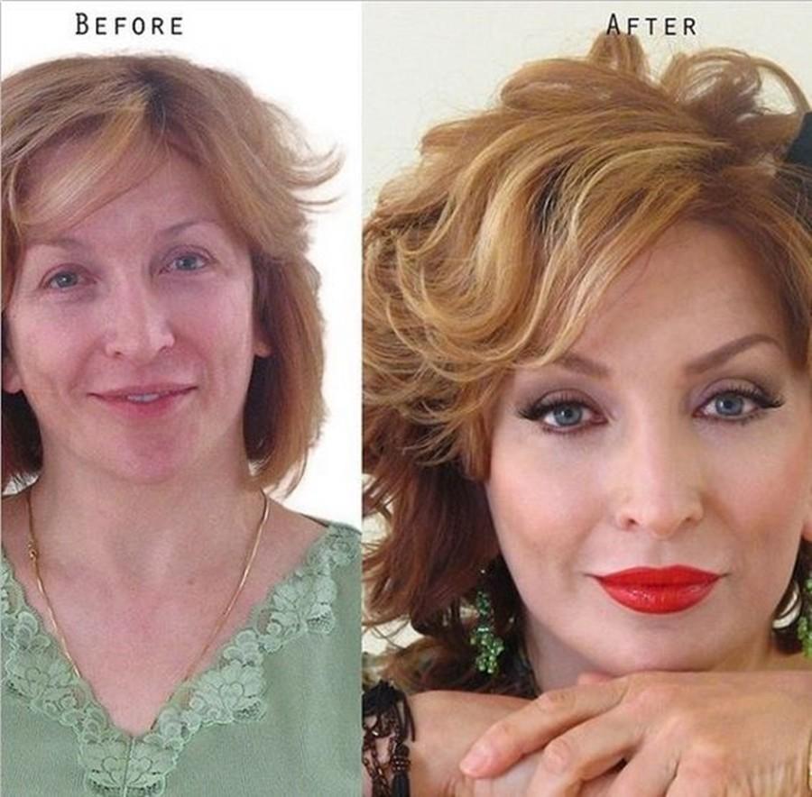 cabelo e maquiagem - 50+, 60+