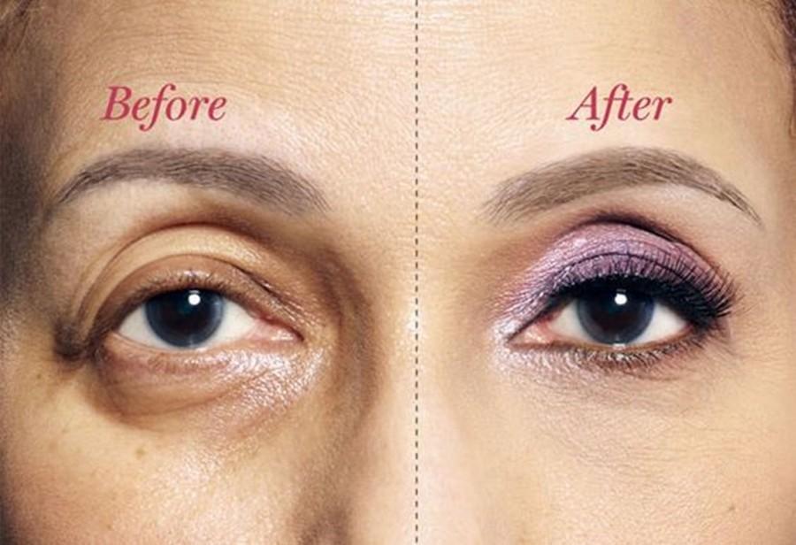 maquiagem para senhoras - olhos