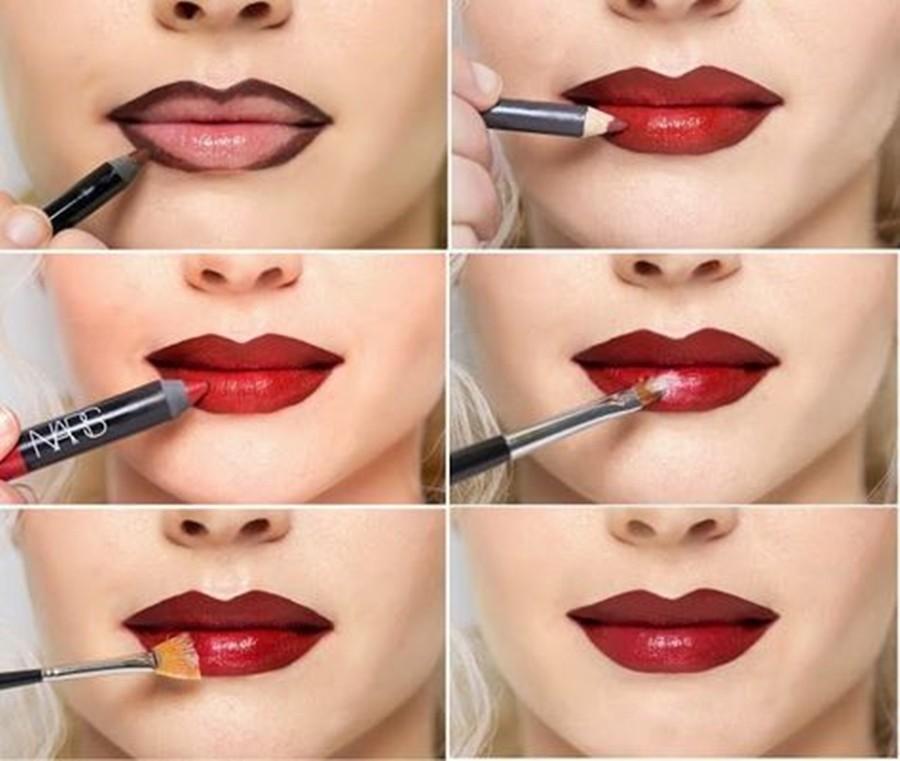 maquiagem na terceira idade - volume para lábios
