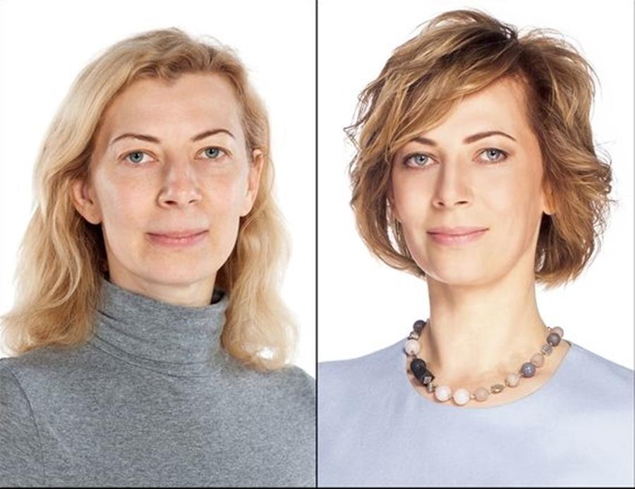 corte de cabelo e maquiagem - 50+, 60+
